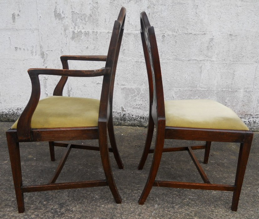 Chippendale Chairs Auction 4 Chippendale Chairs